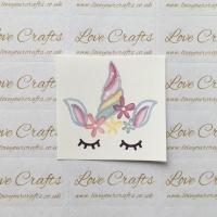 LC Ribbon Transfer - Large Sleepy Unicorn