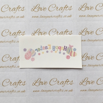 LC Ribbon Transfer - Happy Easter