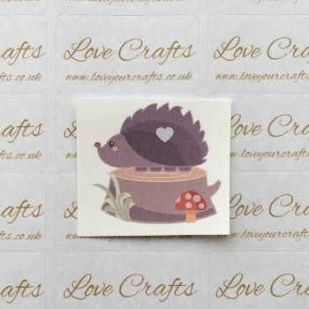 LC Ribbon Transfer - Hedgehog