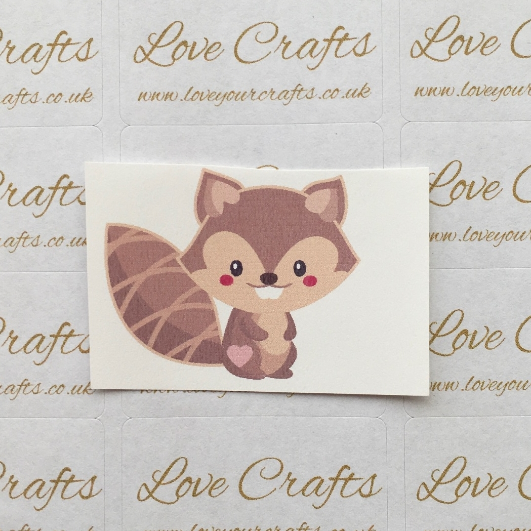 LC Ribbon Transfer - Squirrel