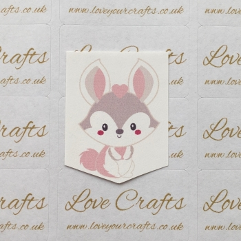 LC Ribbon Transfer - Bunny