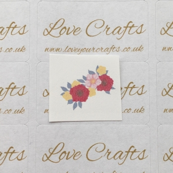 LC Ribbon Transfer - Flower Garland