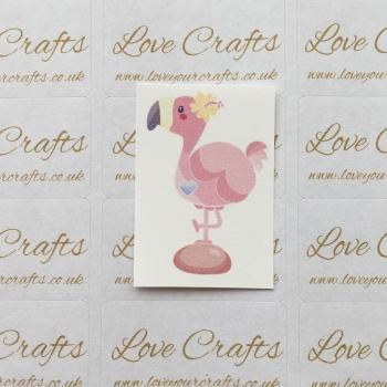 LC Ribbon Transfer - Flamingo 2