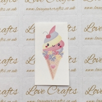 LC Ribbon Transfer - Icecream
