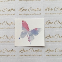 LC Ribbon Transfer - Watercolour Butterfly 1