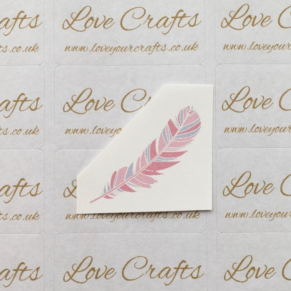 LC Ribbon Transfer - Feather