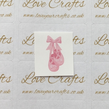 LC Ribbon Transfer - Ballet Shoes