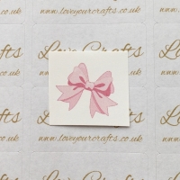LC Ribbon Transfer - Pink Bow
