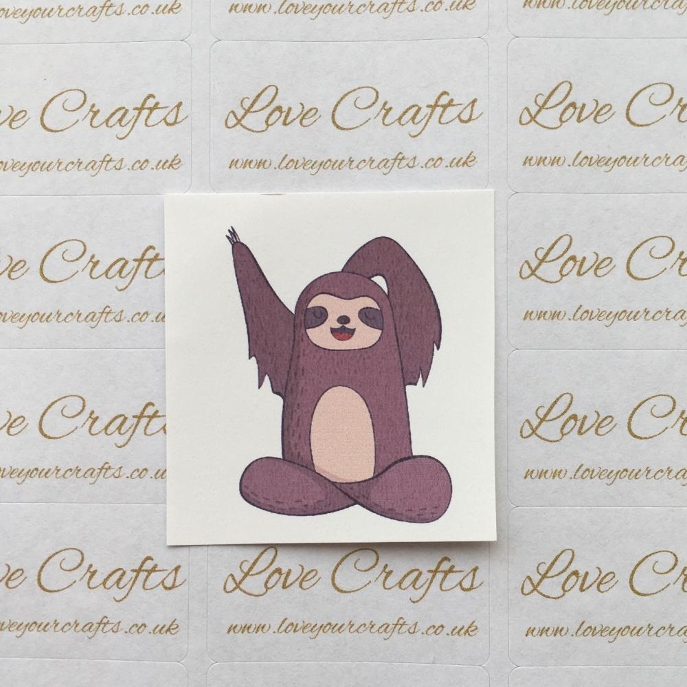 LC Ribbon Transfer - Sloth 2