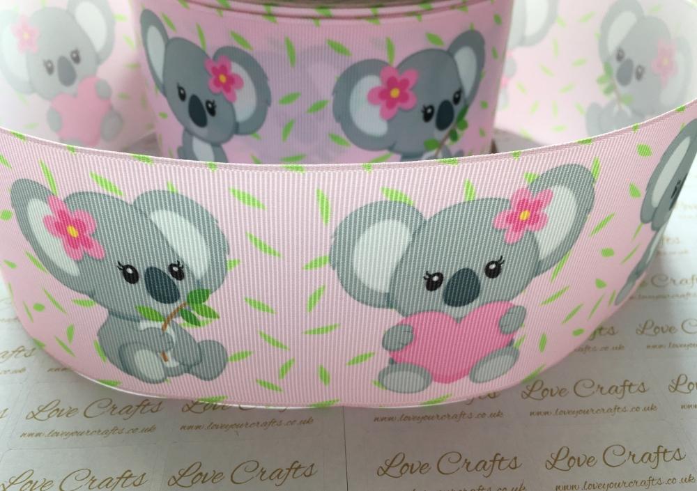 Cute Koala Grosgrain Ribbon