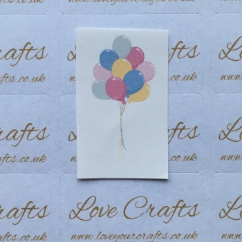 LC Ribbon Transfer - Balloons