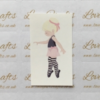 LC Ribbon Transfer - Blonde Hair Ballerina 2