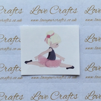 LC Ribbon Transfer - Blonde Hair Ballerina 3