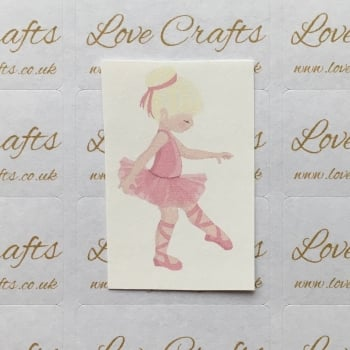 LC Ribbon Transfer - Blonde Hair Ballerina 4