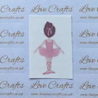 LC Ribbon Transfer - Brown Hair Ballerina 5
