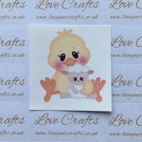 LC Ribbon Transfer - Chick & Lamb