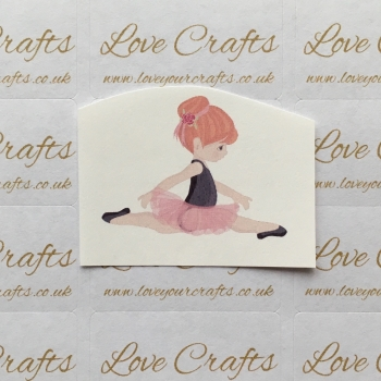 LC Ribbon Transfer - Ginger Hair Ballerina 3