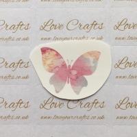 LC Ribbon Transfer - Watercolour Butterfly 2