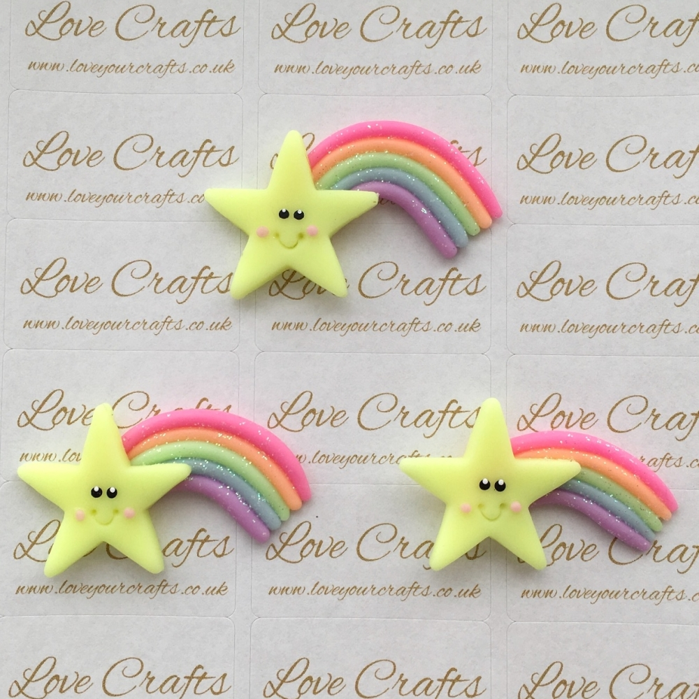 Rainbow Star Clay
