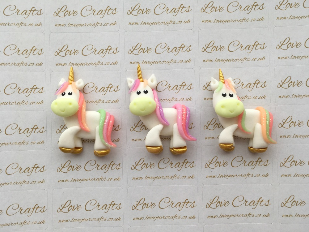 Unicorn Standing Clay