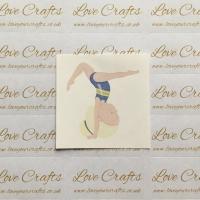 LC Ribbon Transfer - Blonde Hair Gymnast 4