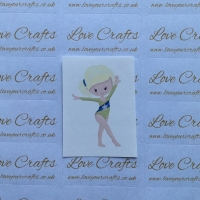 LC Ribbon Transfer - Blonde Hair Gymnast 3