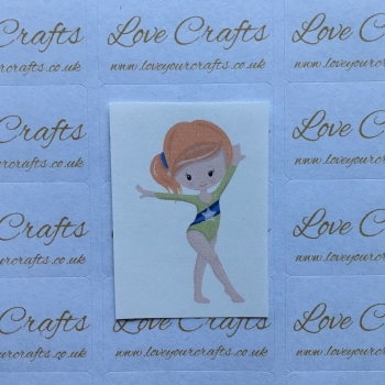 LC Ribbon Transfer - Ginger Hair Gymnast 3