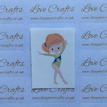 LC Ribbon Transfer - Ginger Hair Gymnast 3