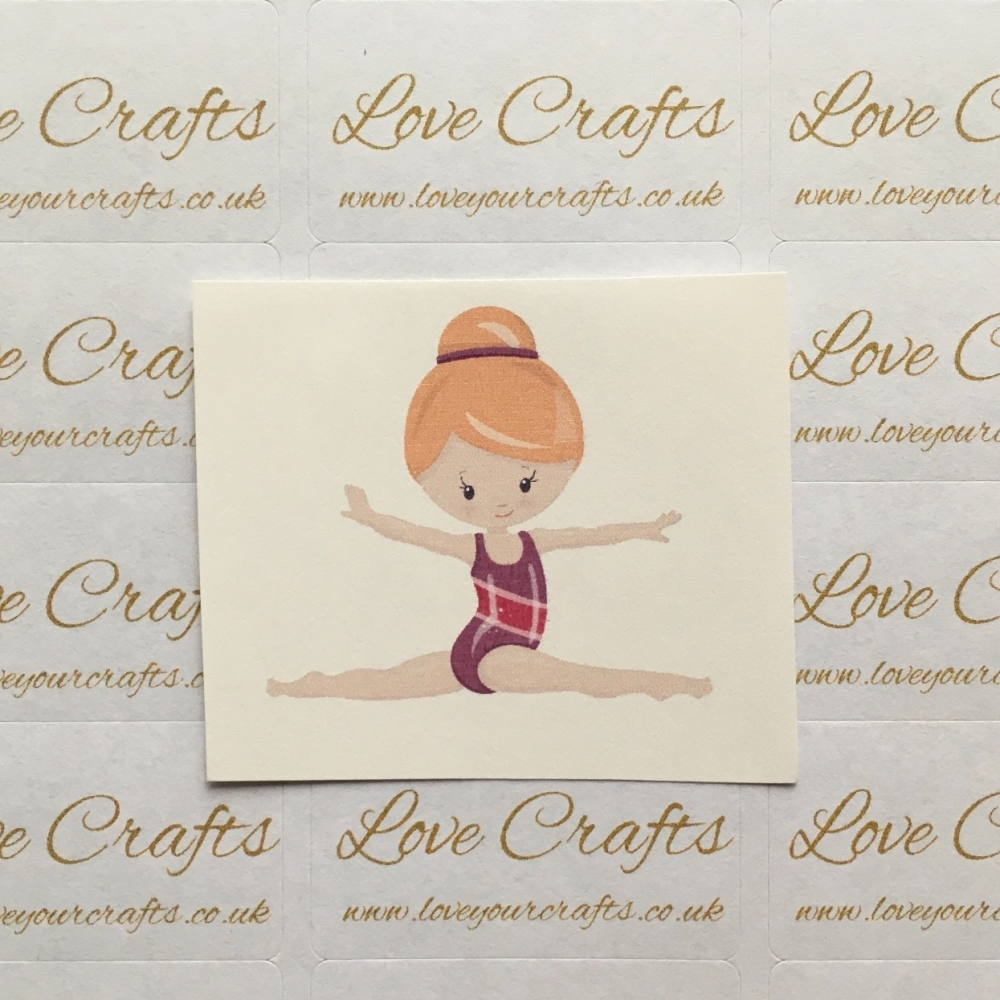 LC Ribbon Transfer - Ginger Hair Gymnast 2