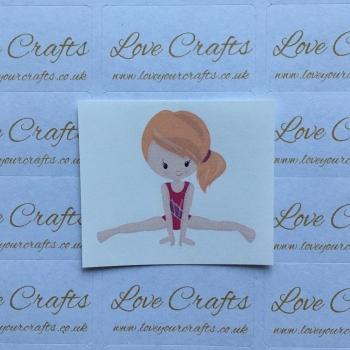 LC Ribbon Transfer - Ginger Hair Gymnast 1
