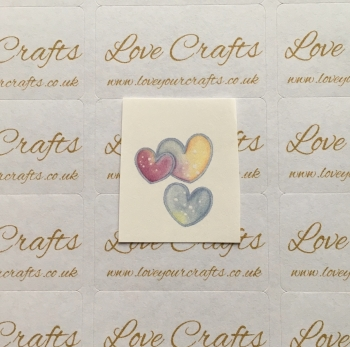 LC Ribbon Transfer - Hearts