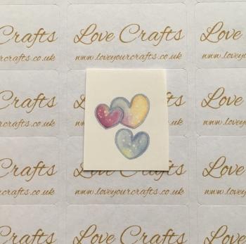 LC Ribbon Transfer - Hearts