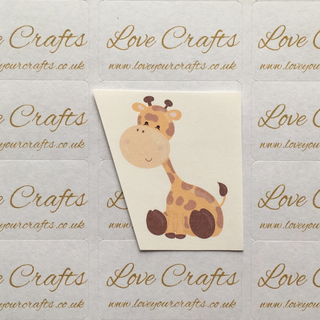 LC Ribbon Transfer - Giraffe