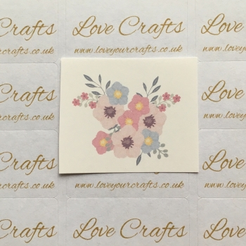 LC Ribbon Transfer - Flowers