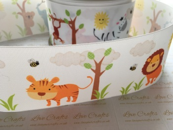 Jungle Grosgrain Ribbon