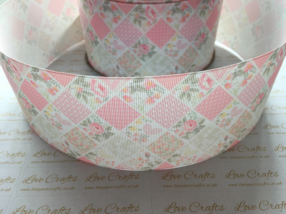 Pretty In Pink Grosgrain Ribbon