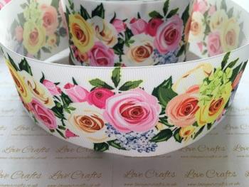 Anya Floral Grosgrain Ribbon