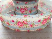 Amelia Floral Grosgrain Ribbon