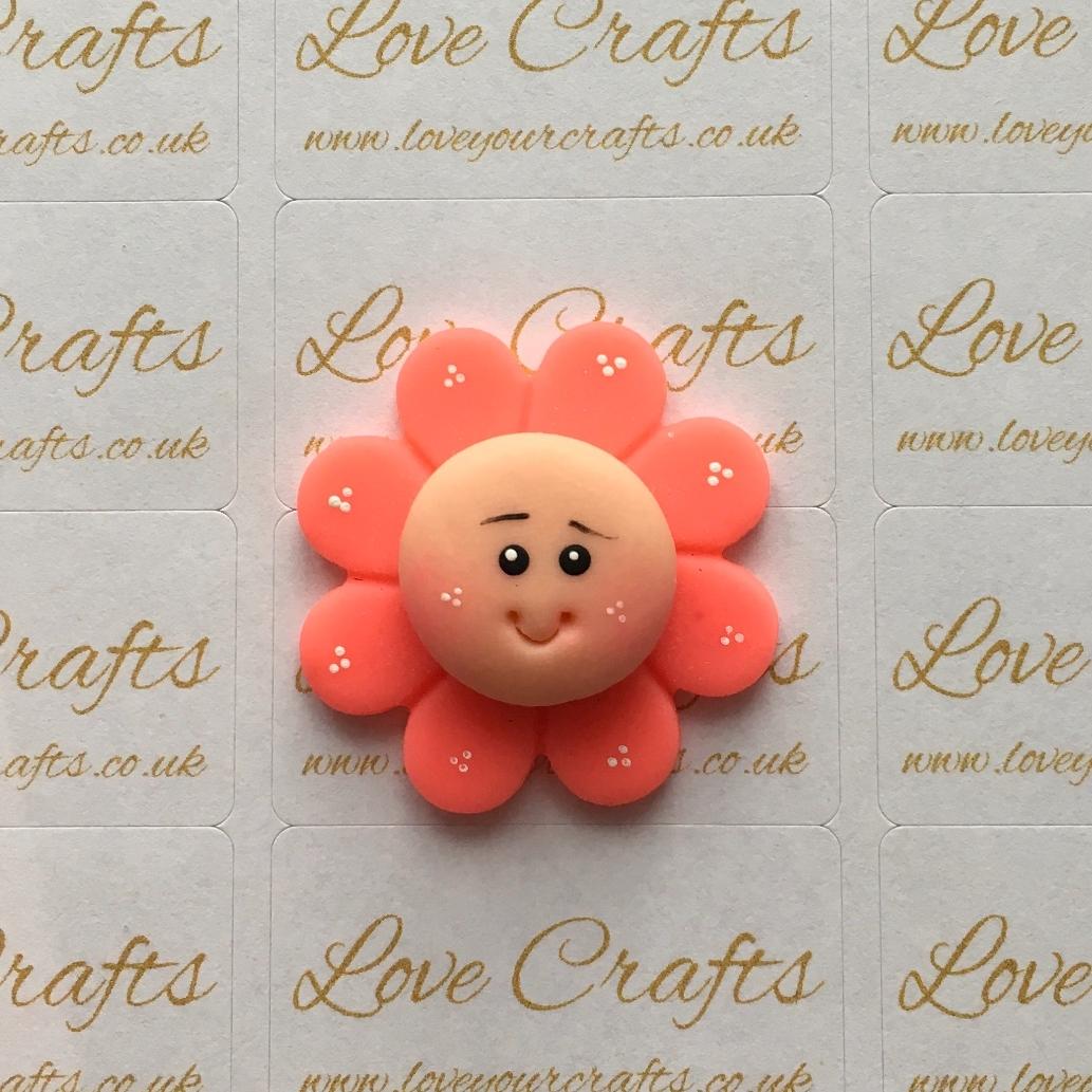 Orange Flower Clay