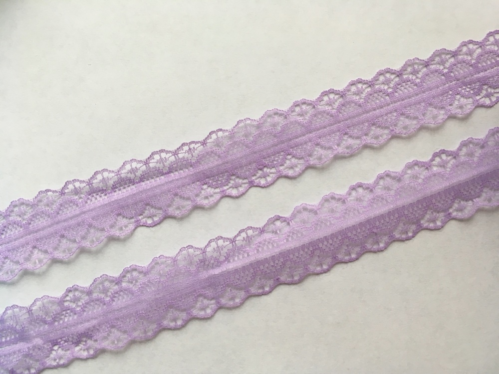 28mm Light Orchid Lace