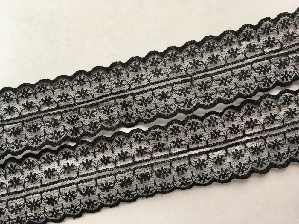 NEW 40mm Black Lace