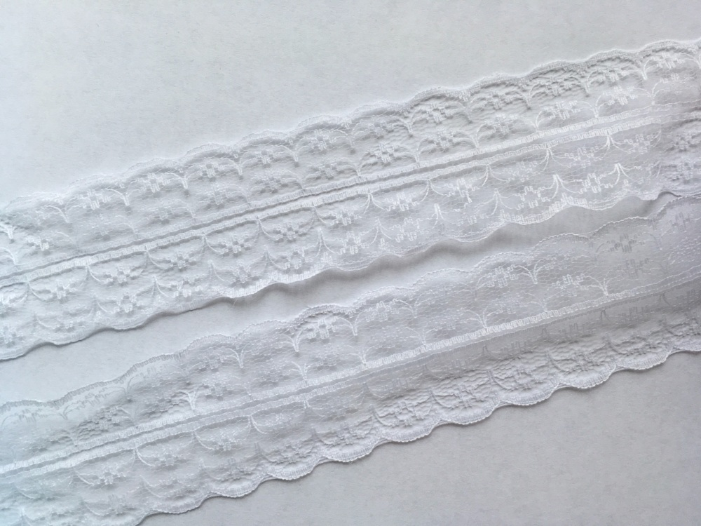 NEW 40mm White Lace