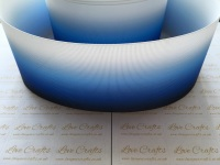 Dark Blue Ombre Grosgrain Ribbon