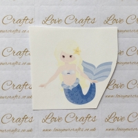 LC Ribbon Transfer - Blonde Hair Mermaid