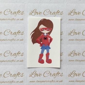 LC Ribbon Transfer - Brown Hair Supergirl 5