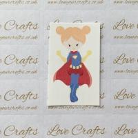 LC Ribbon Transfer - Ginger Hair Supergirl 2