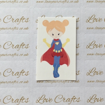 LC Ribbon Transfer - Ginger Hair Supergirl 2
