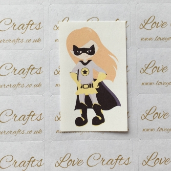 LC Ribbon Transfer - Ginger Hair Supergirl 3
