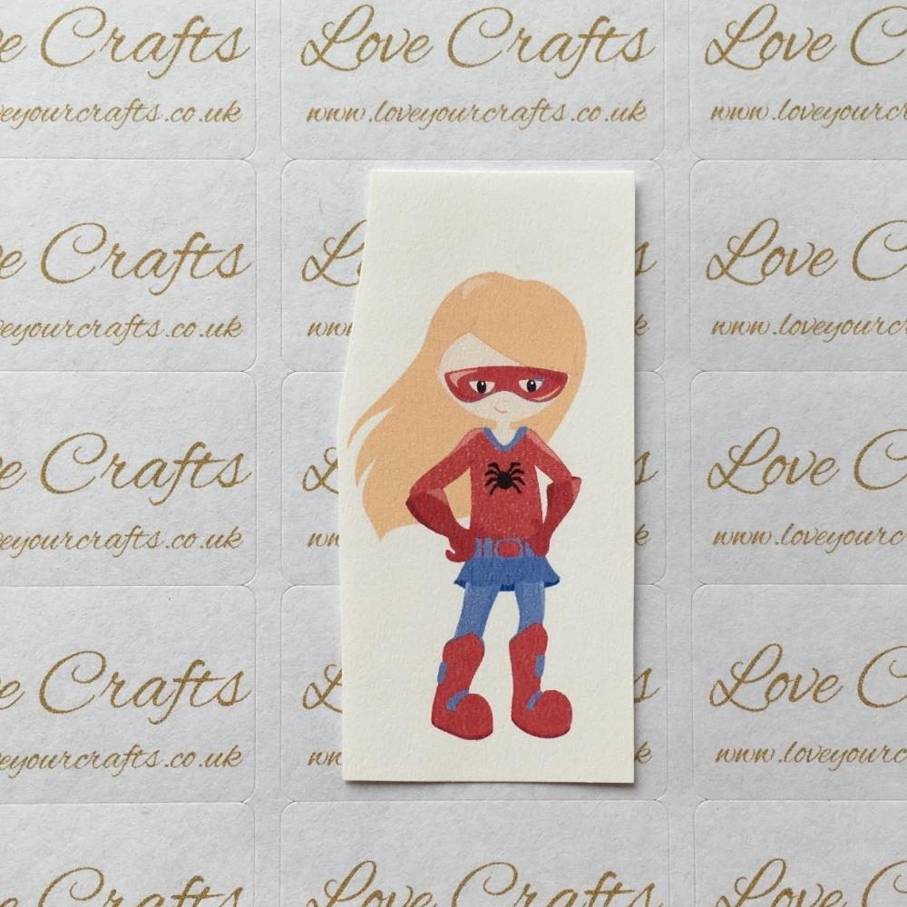 LC Ribbon Transfer - Ginger Hair Supergirl 5