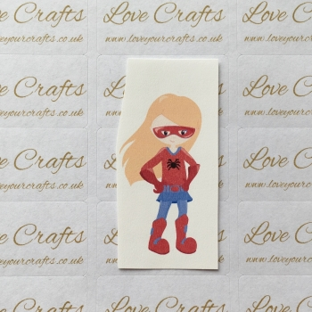LC Ribbon Transfer - Ginger Hair Supergirl 5